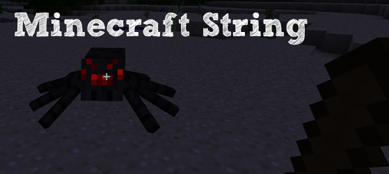 Minecraft touw -string